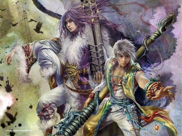 CG Art Wallpaper I Chen Lin Artwork 12