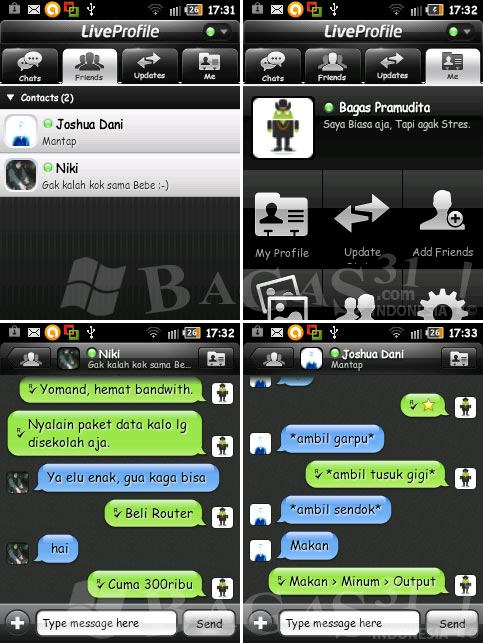 LiveProfile for Android 2