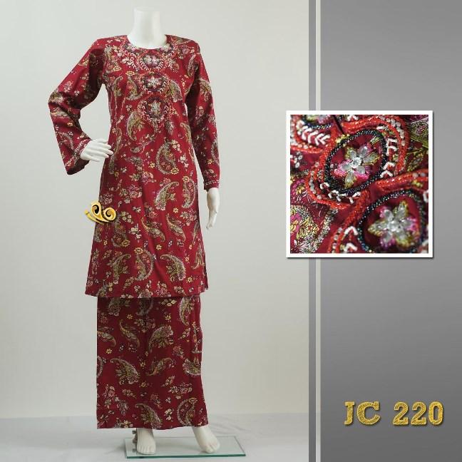 Exclusive Baju Kurung Pahang / Pesak Gantung Bermanik dari Adamuiz