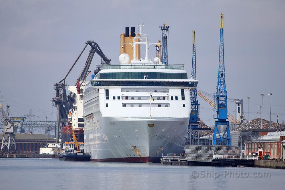 Ship Photo Aurora Part 1 Southampton To Zeebrugge