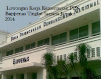 Lowongan Kerja Kementerian PPN Bappenas Tingkat Sarjana Januari 2014