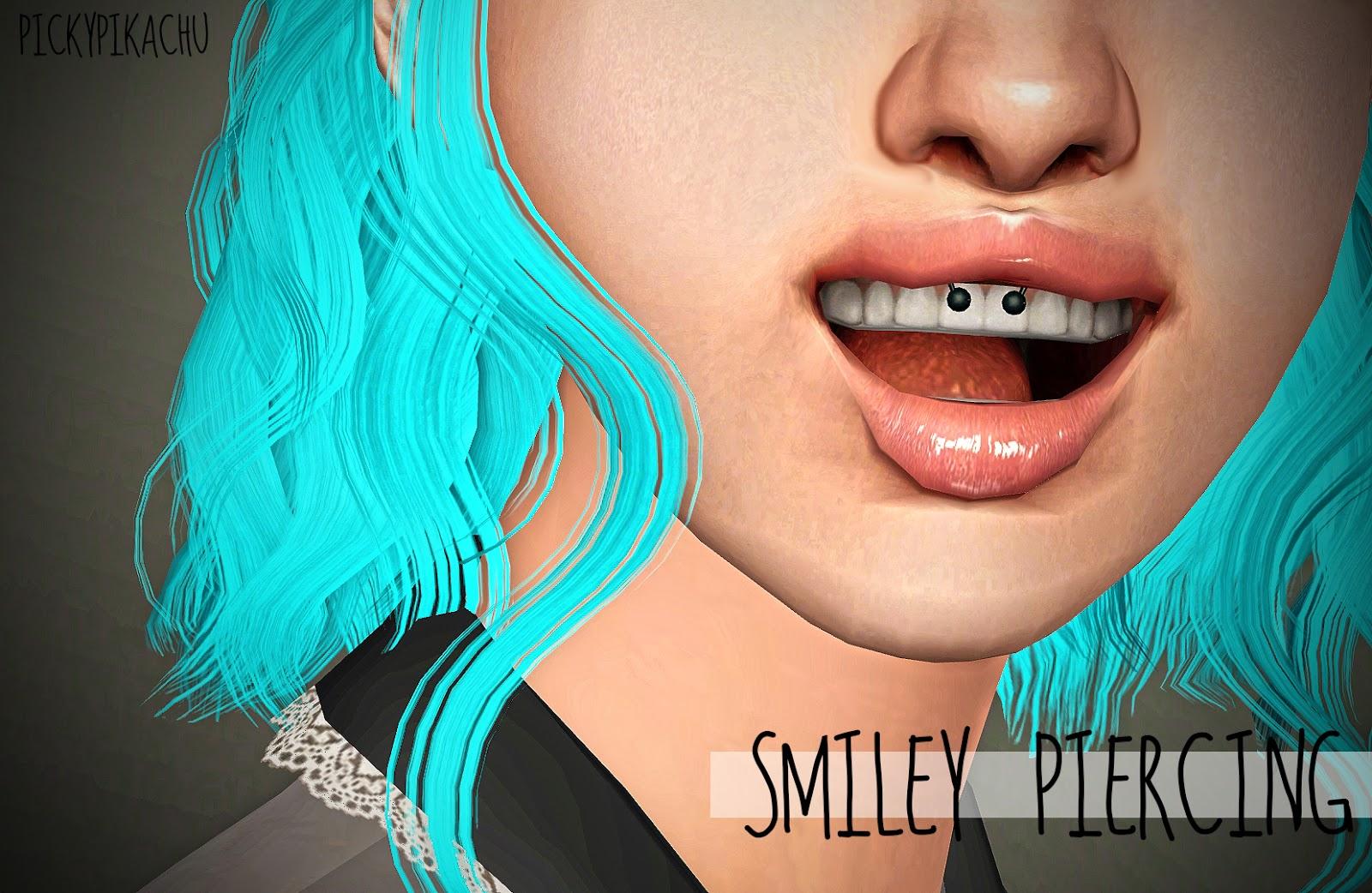 My Sims 3 Blog Smiley Piercing By Pickypikachu