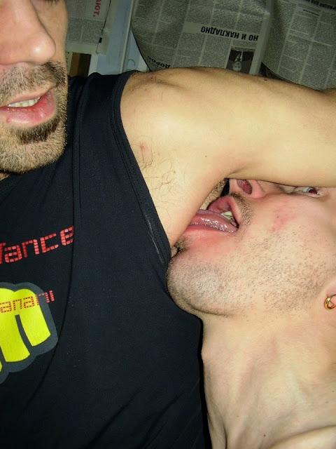from Axl gay guys licking armpits