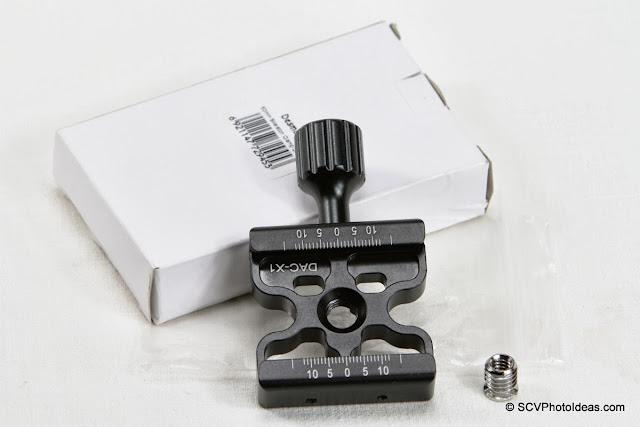 Desmond DAC-X1 Skeleton QR Clamp - Box