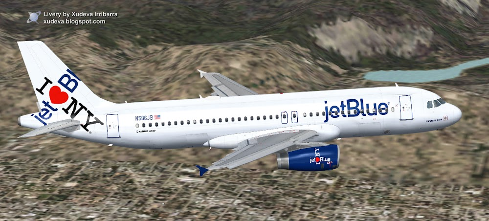 jetBlue Airbus A320-232 'I love Blue York' - Project Airbus – Talk