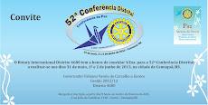 52ª Conferência Distrital
