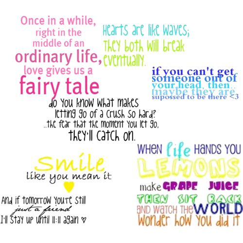 Cute Quotes and Sayings About Life