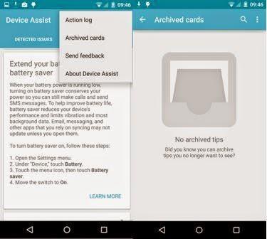 Google rilis aplikasi Device Assist untuk Android Lollipop