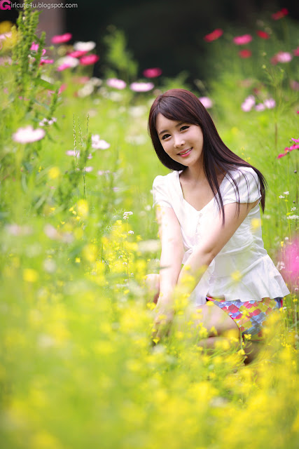 2 Kim Ji Min - Smile Like a Flowers-very cute asian girl-girlcute4u.blogspot.com