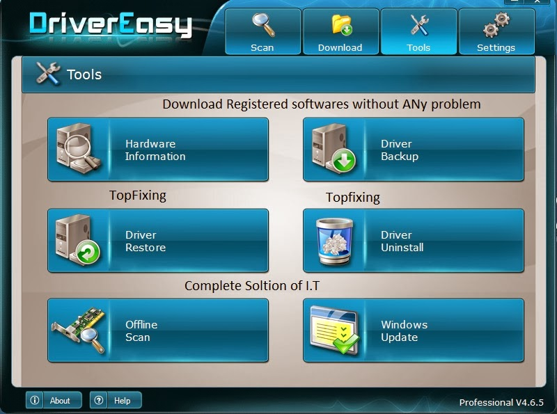 driver restore serial activation key
