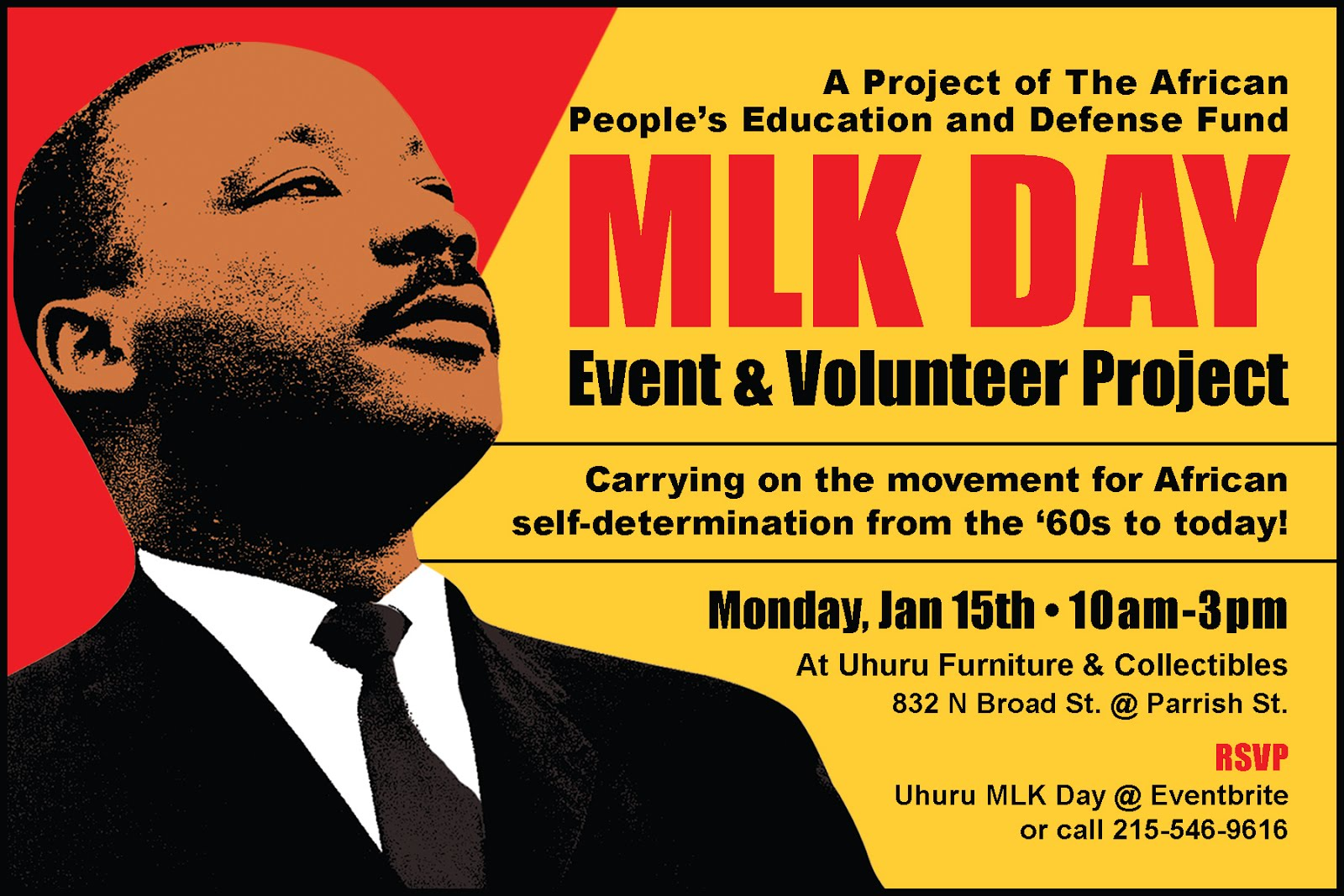 Register NOW for MLK Day Event & Volunteer Project