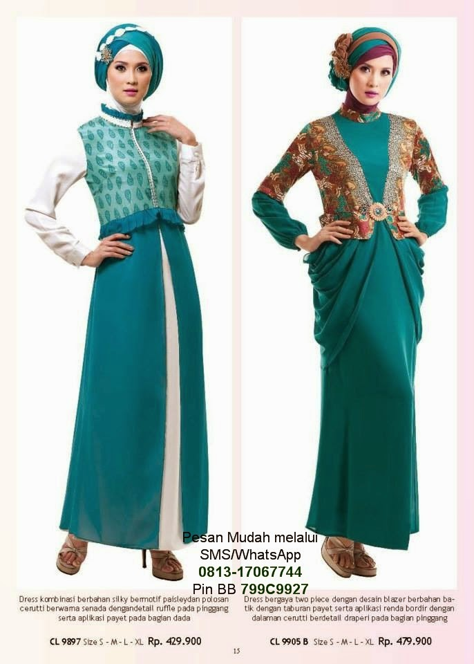 Baju Gamis Modern Murah Toko Fashion Online Jakarta ...