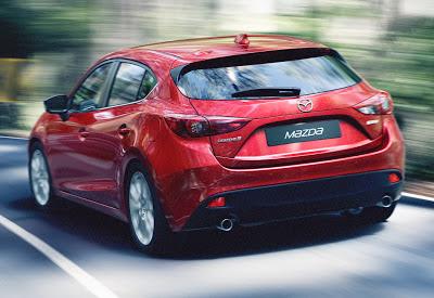 Noua Mazda3 poza de exterior