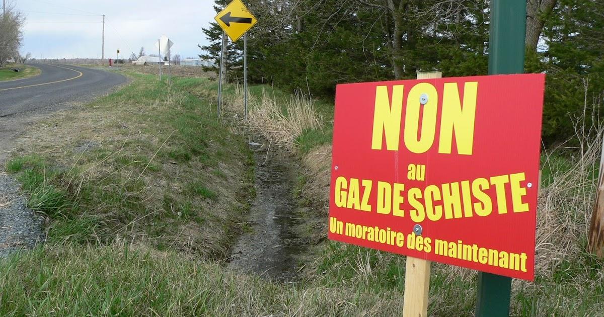 Les ami e s du richelieu gaz de schiste quel moratoire for Quel fournisseur de gaz