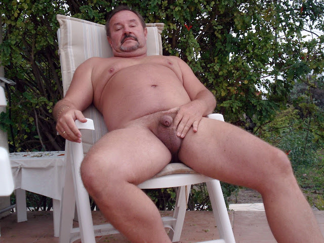 hotbearnextdoor Chubby Daddy with Uncock Cock