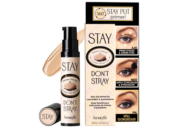 Benefit Cosmetics claims that their Stay Don39;t Stray is a dualaction