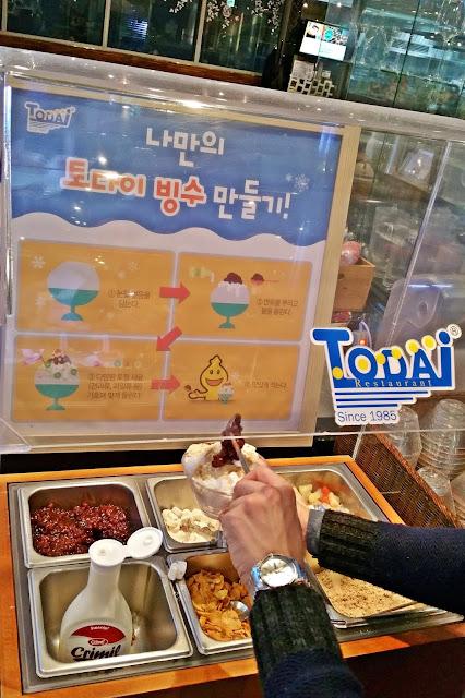 Todai Restaurant - DIY Bingsu | www.meheartseoul.blogspot.com