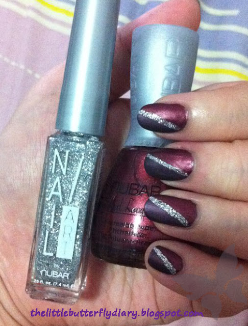 Nubar Modern Matte Prevail Avantgarde Nubar Nail Art Silver