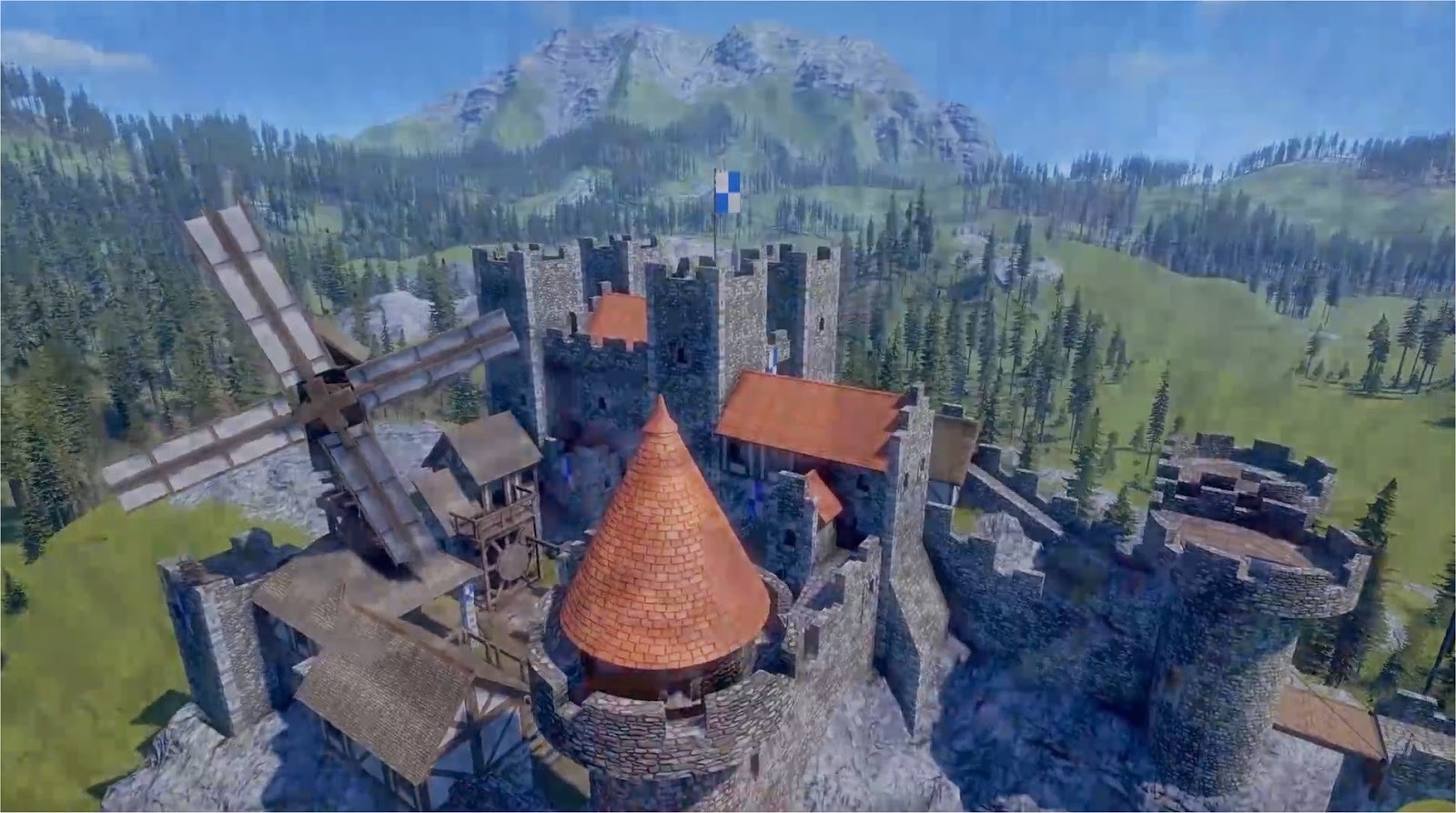 Medieval Engineers Burg