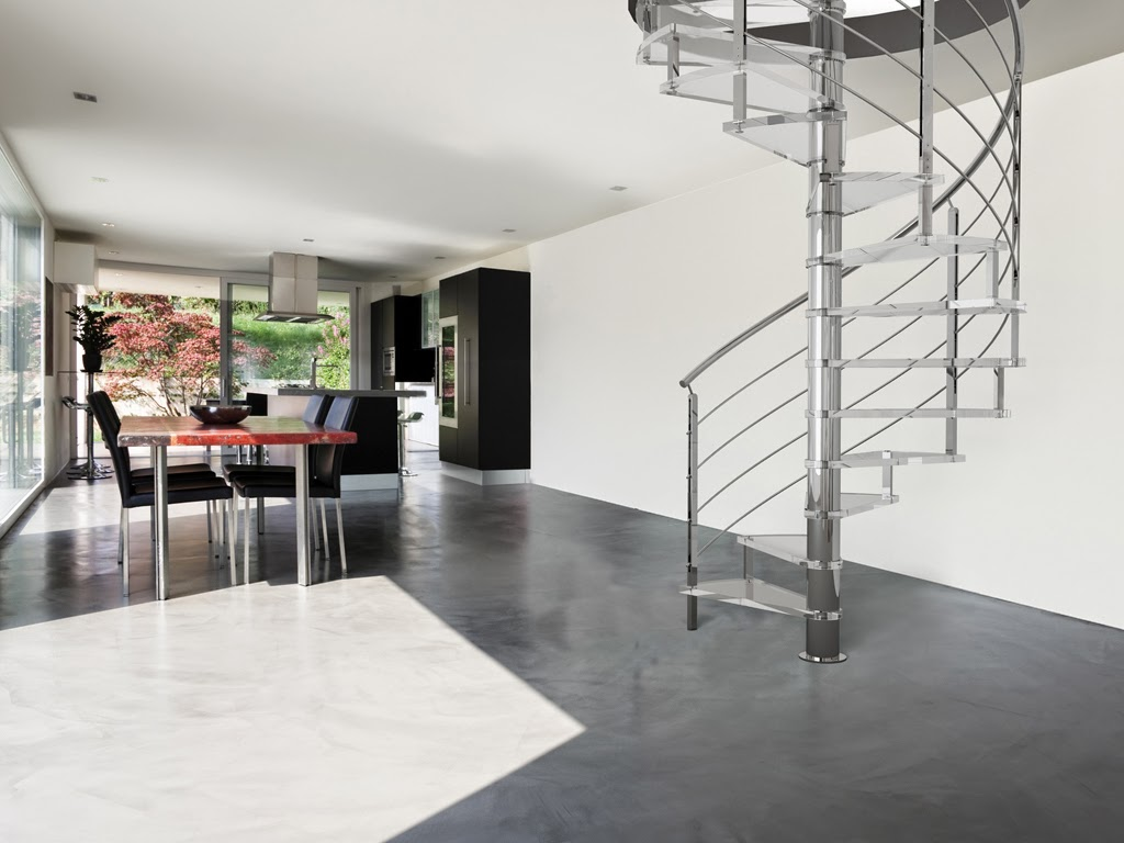 metal spiral stairs , great design