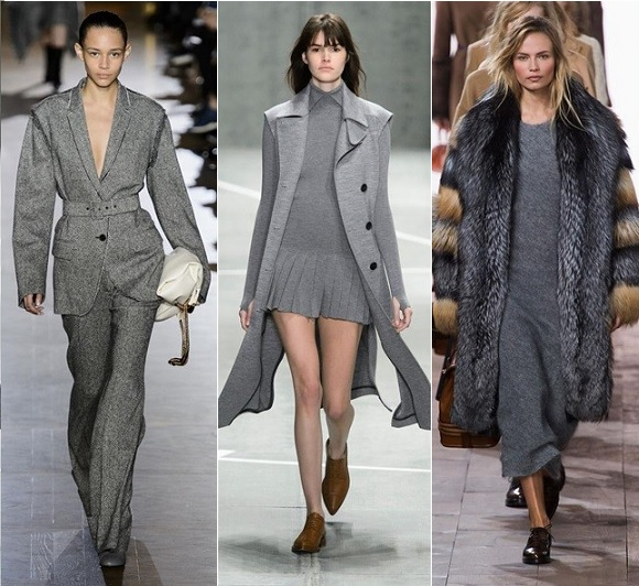 vistiendo de gris