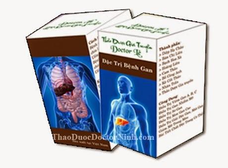 Điều trị gan nhiễm mỡ bằng thảo dược gia truyền Doctor Lê