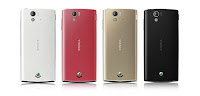 The Colour of Sony Ericsson Xperia Ray