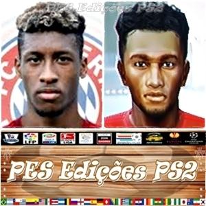 Coman (Bayern München) e França - PES PS2