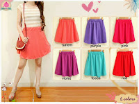 Rok kate flare pastel