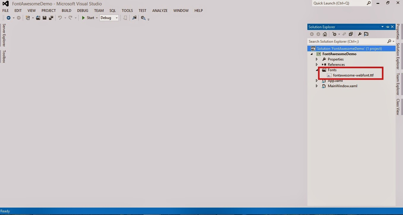 How to integrate Font Awesome in WPF Application  | Dishant Shah