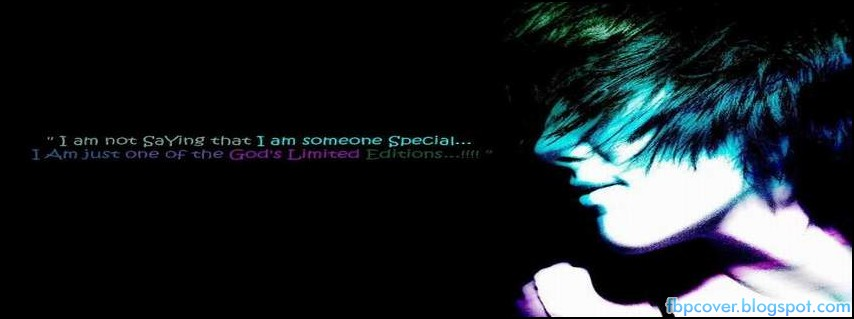 I Am Some Special Quote Boy Fb Cover Timeline