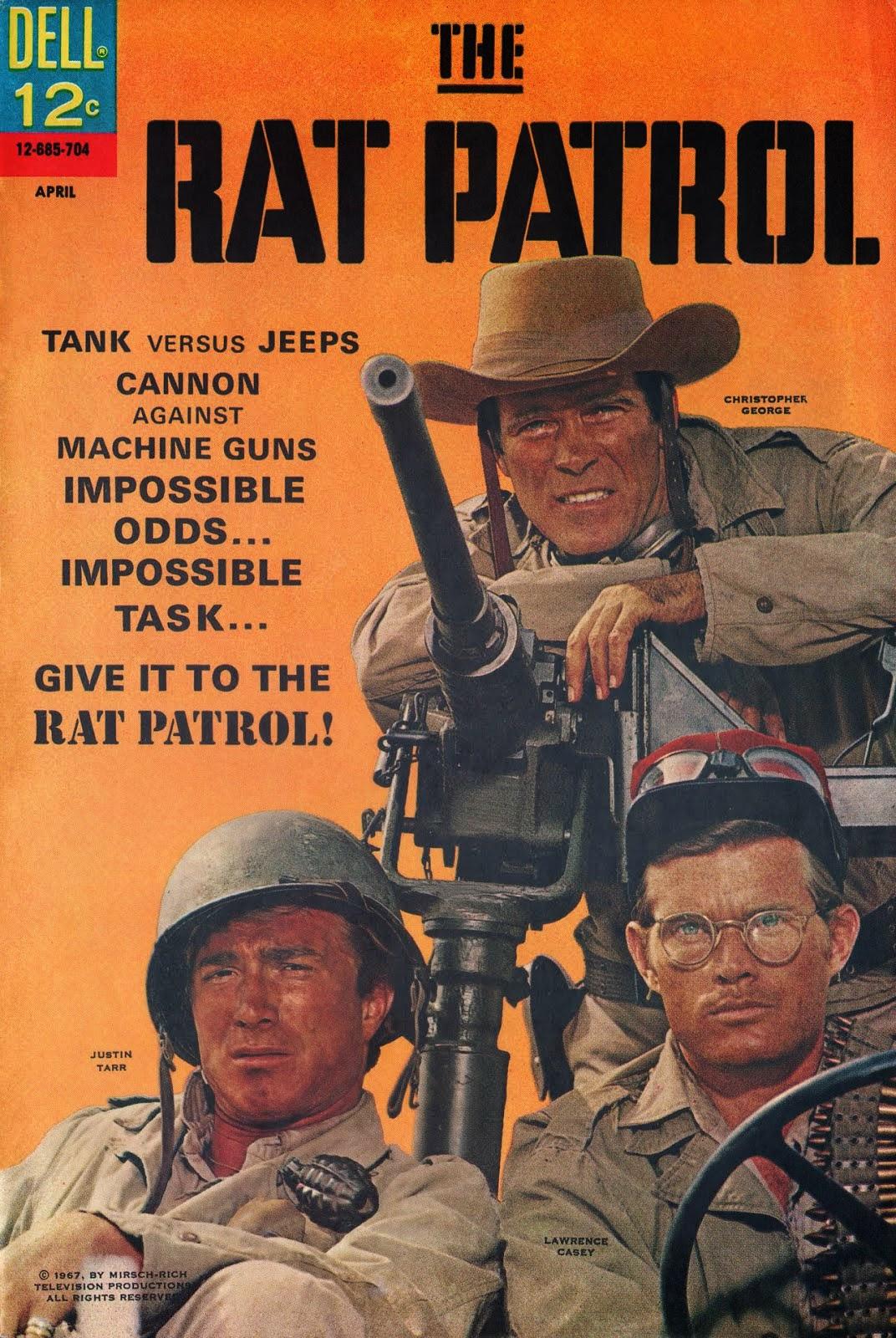 RATOS DO DESERTO (THE RAT PATROL)