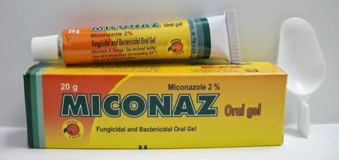 ميكوناز أورال جيل Miconaz oral gel