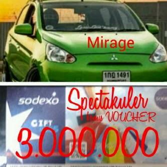 Voucher Belanja Sodexo - Mirage