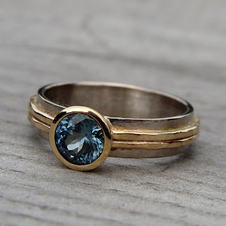 ethical sapphire ring