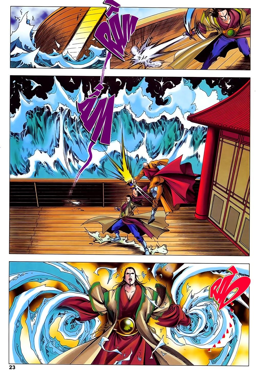 Lục Đạo Thiên Thư chap 31 - Trang 23