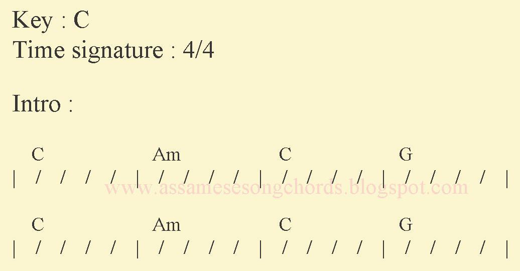 Assamese Song Chords: Chords Of Assamese Song Anuradha