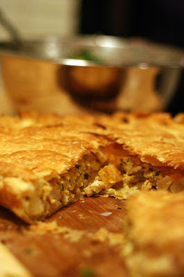 Skillet Moroccan Chicken Pie Recipe | Healthy Chicken Moroccan Pie Recipe