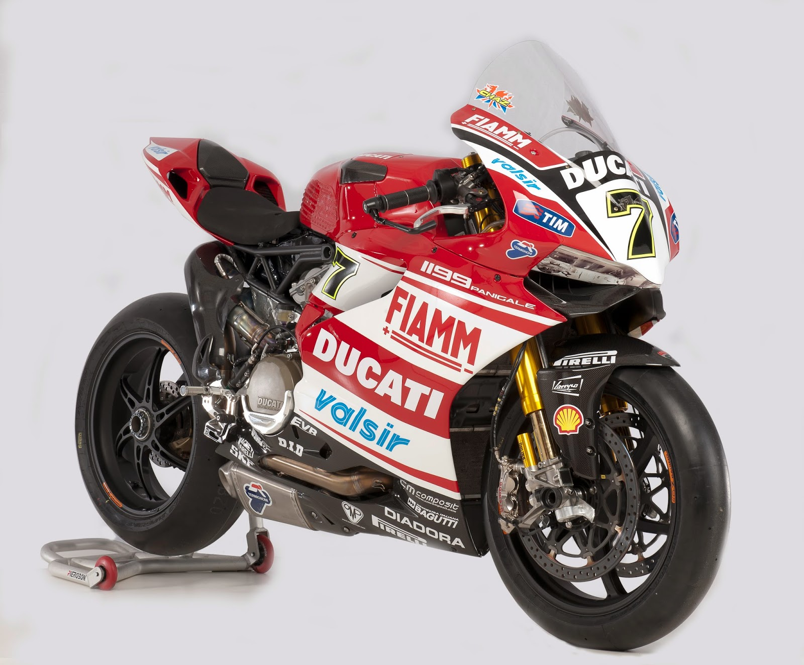 Racing Caf 232 Ducati 1199 Panigale Ducati Superbike Team 2014