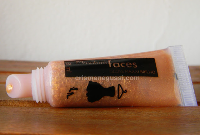 resenha Gloss Natura Faces