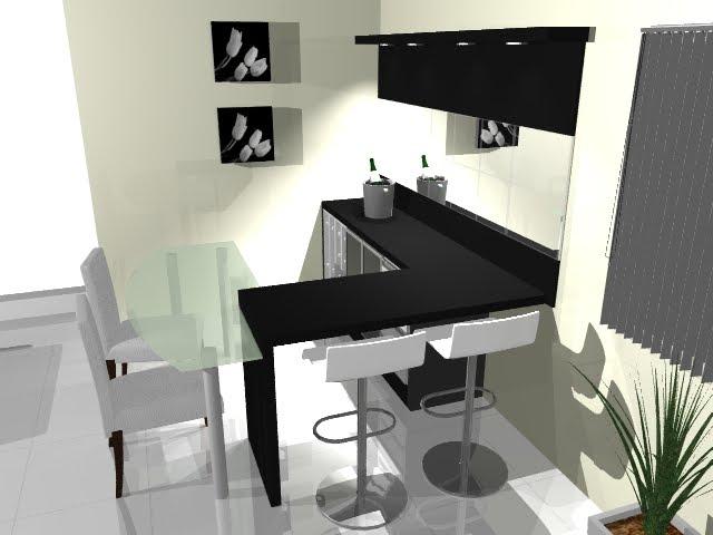 #474355 Designer Kamila Sgrott Bar na Sala de Estar 640x480 píxeis em Bar Para Sala De Estar Moderno Com Rodas