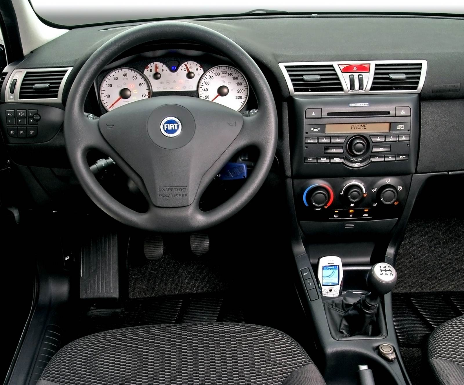 Car Picker Fiat Stilo Interior Images