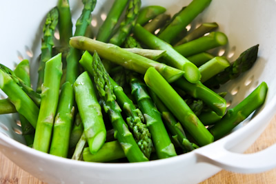 ... Kitchen®: Barely-Cooked Asparagus with Lemon-Mustard Vinaigrette
