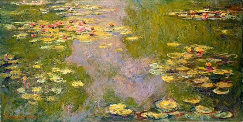 "Picture of ""Water Lilies"" by Claude Monet, 1919"
