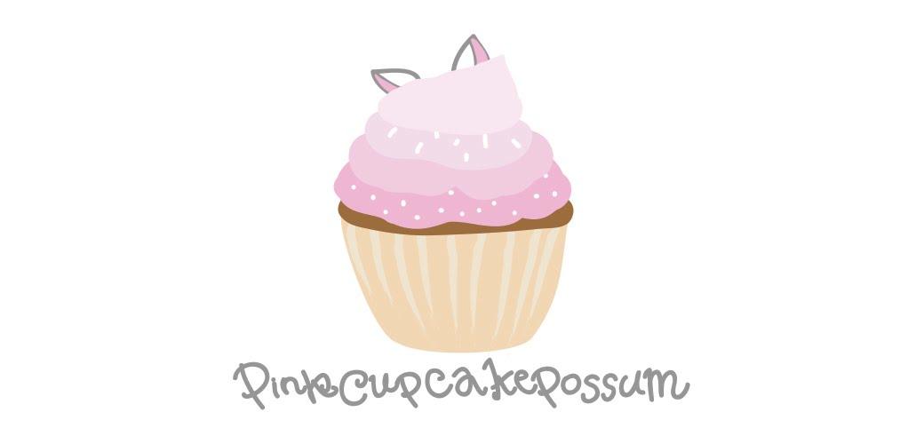 Pink Cupcake Possum