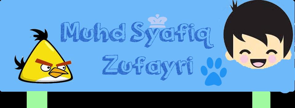 Syafiq Zufayri