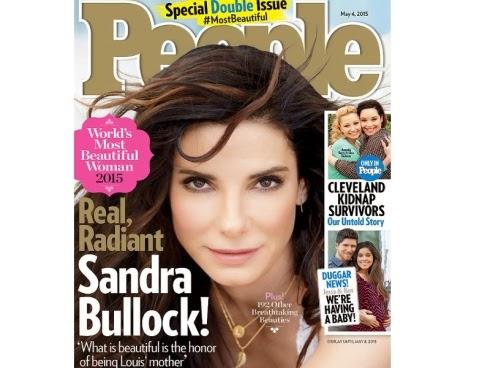 Gambar Sandra Bullock wanita tercantik 2015