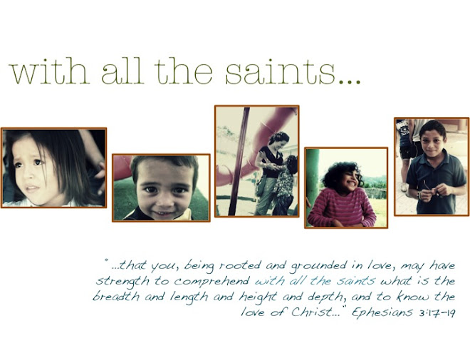 with all the saints