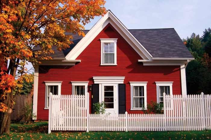 Color For Houses Fascinating Of Red Exterior House Paint Colors Photo