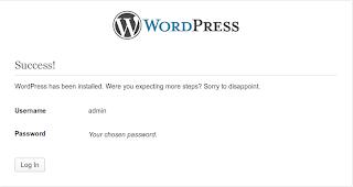 Log in ke blog Wordpress